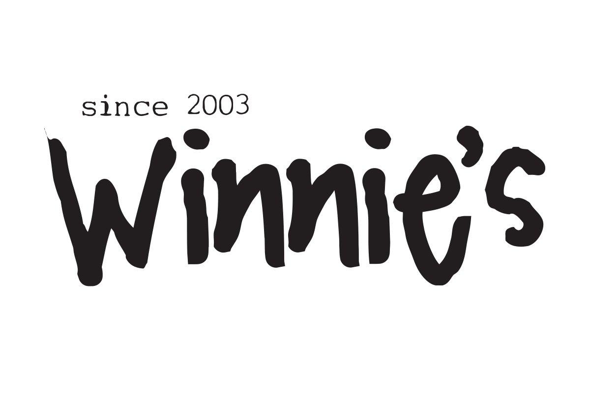 Blue Blaze custom designed logo for Winnie's in Philadelphia