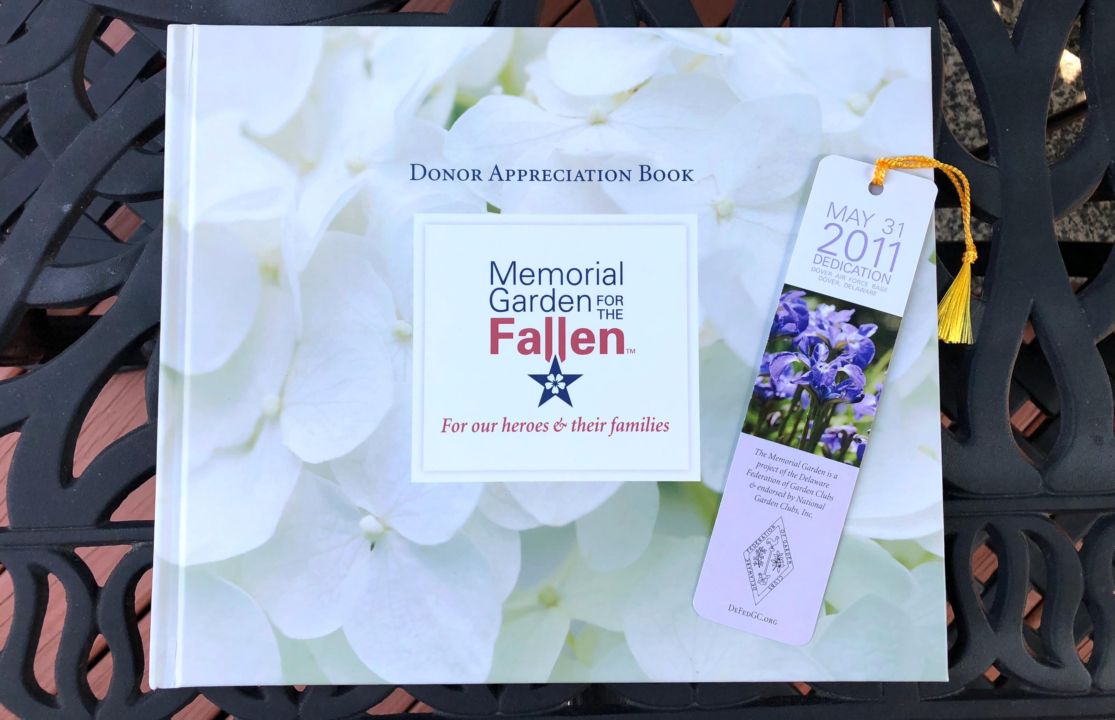 Memorial Garden for the Fallen book