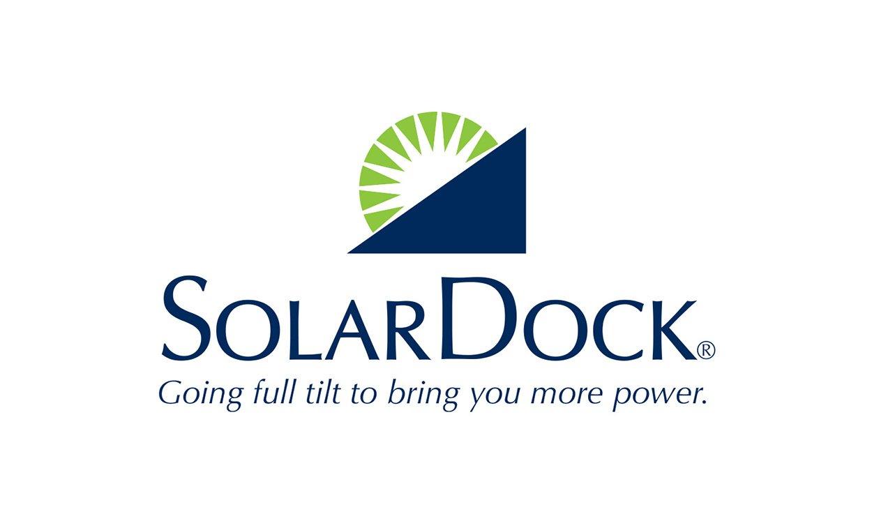 Blue Blaze designed customer logo for Solar Dock