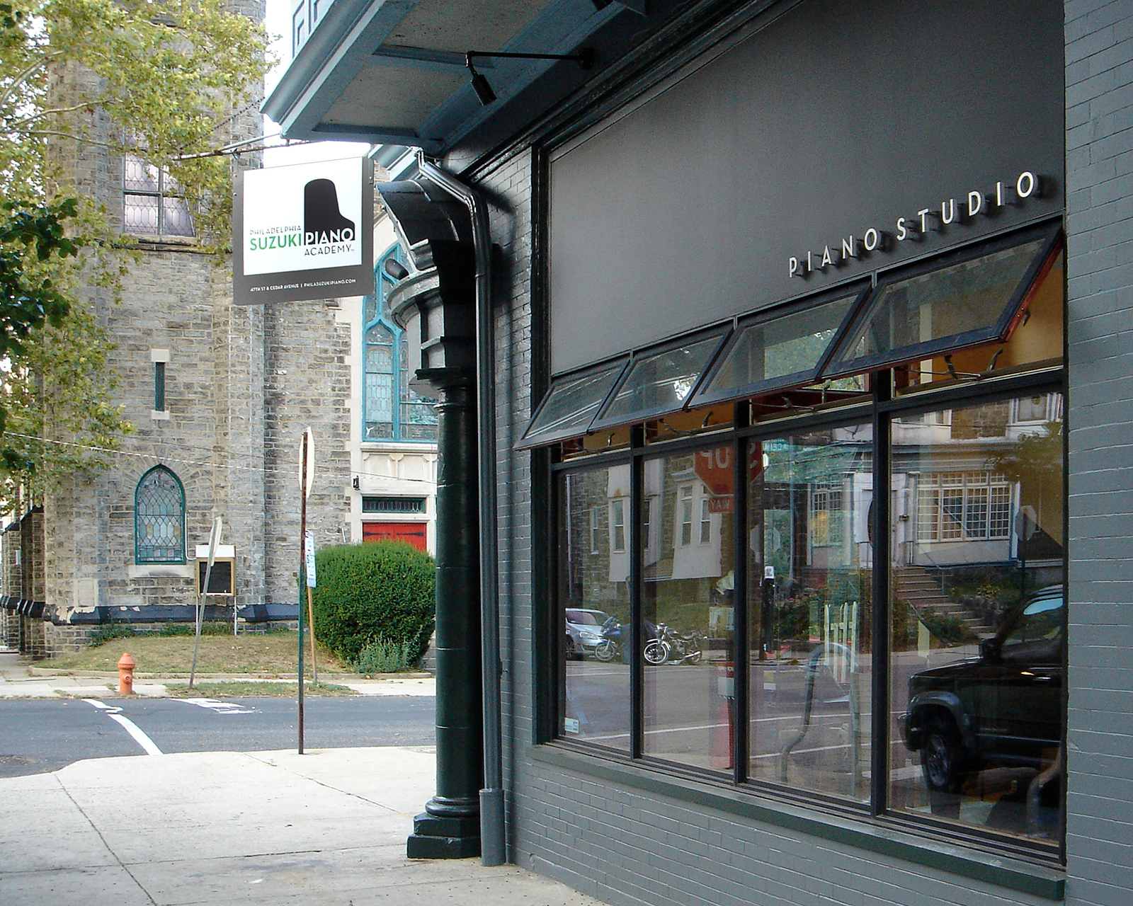 Exterior photo of the Philadelphia Suzuki Piano Academy