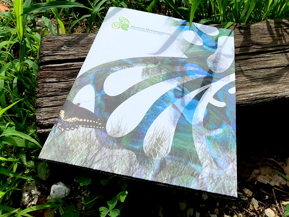 Print design folder for Delaware Museum of Natural History