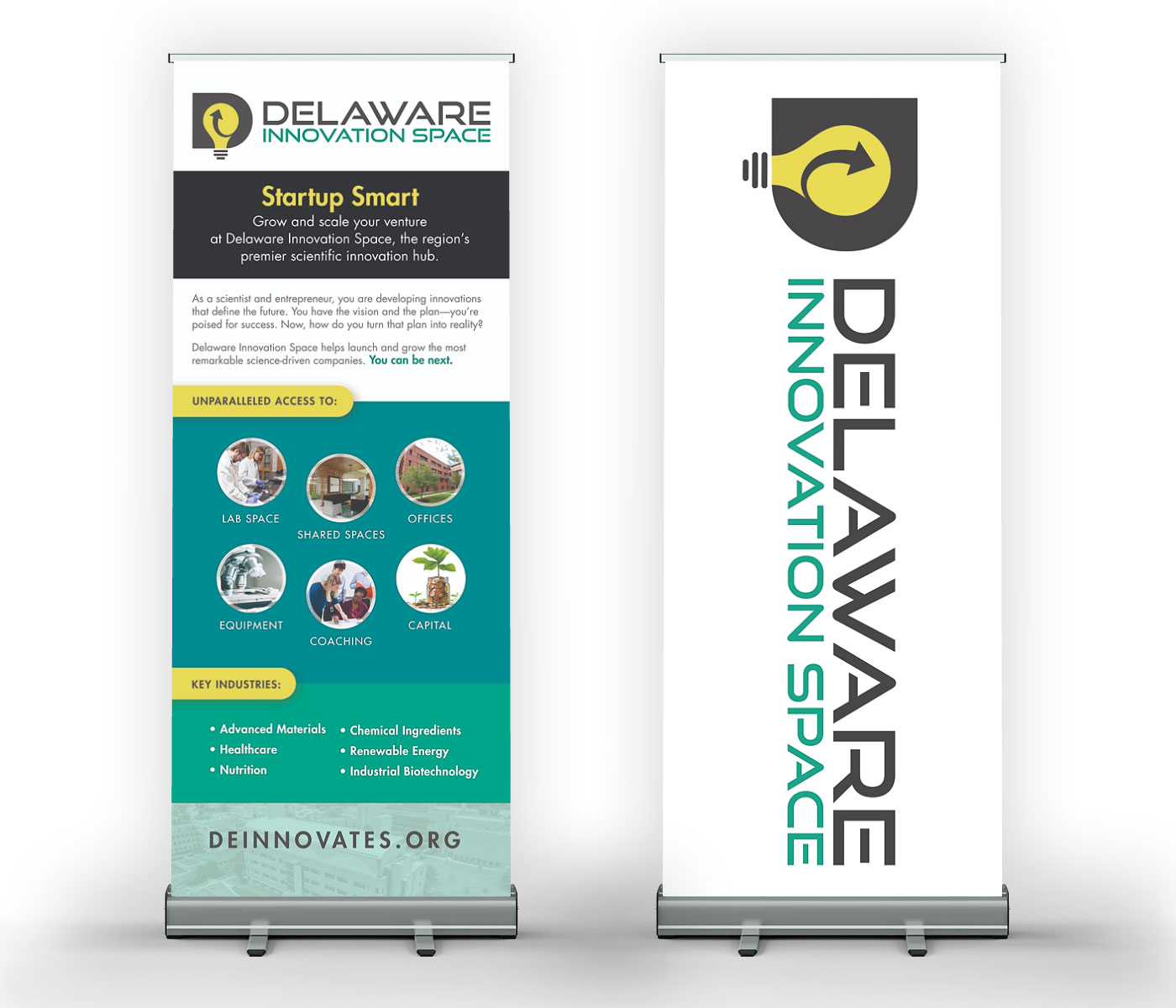 Delaware Innovation Space banners