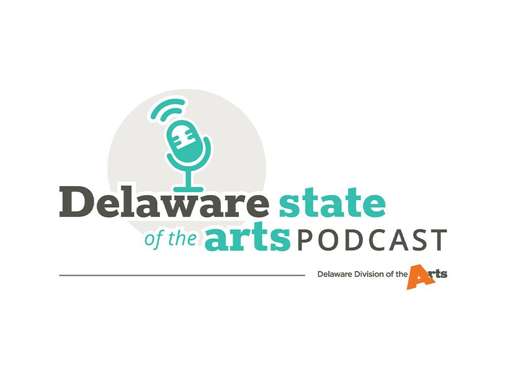 Delaware State of the Arts Podcast custom designed by Blue Blaze Associates