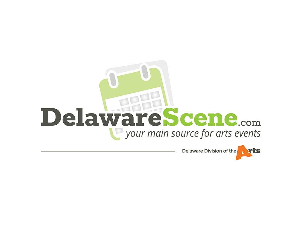 DelawareScene.com logo custom designed by Blue Blaze Associates