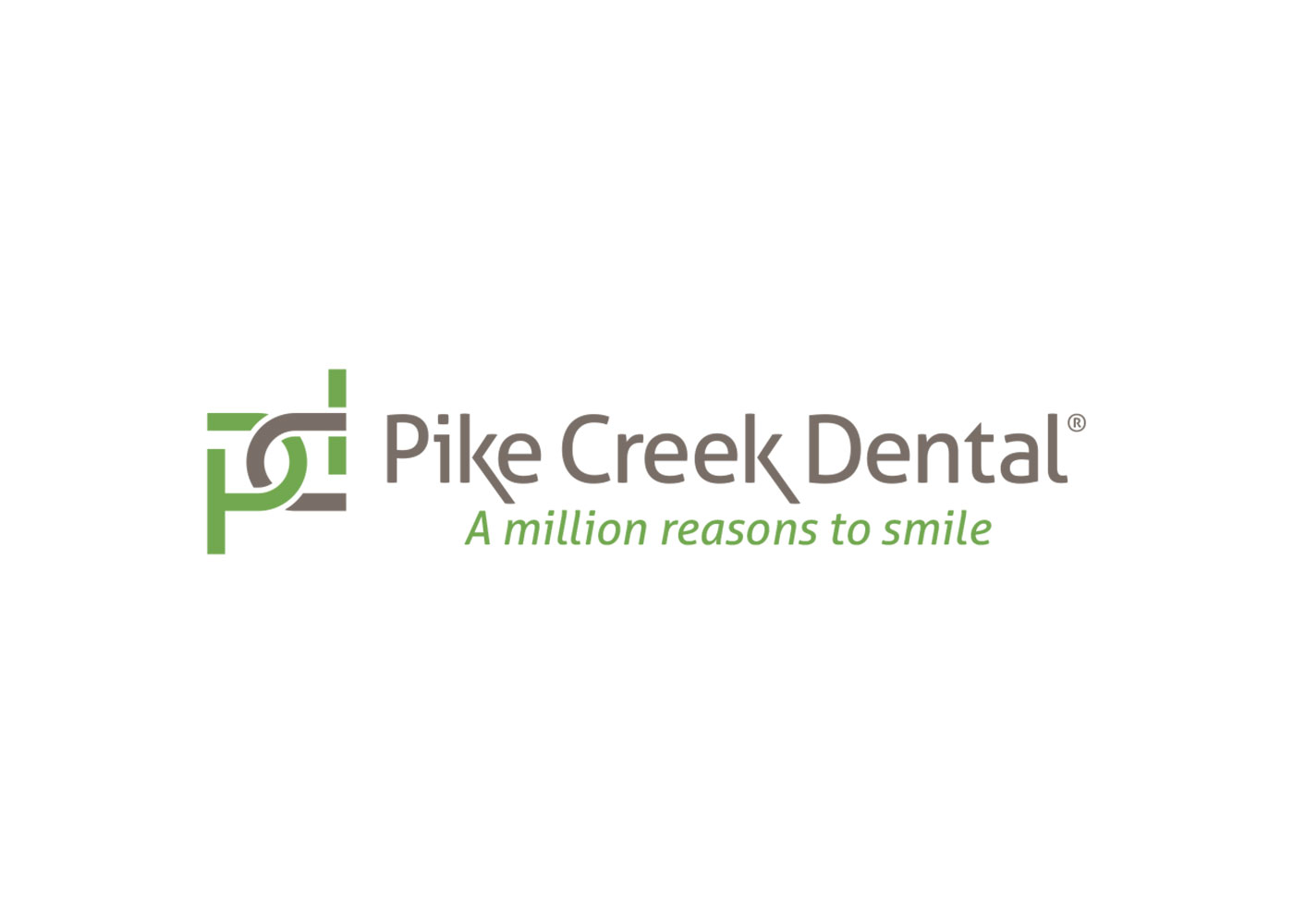 Blue Blaze designed logo for Pike Creek Dental