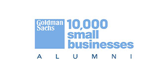 Goldman Sachs 10,000 small businesses alumni logo