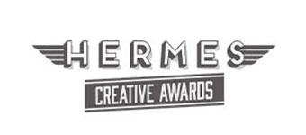 Hermes creative marketing award logo